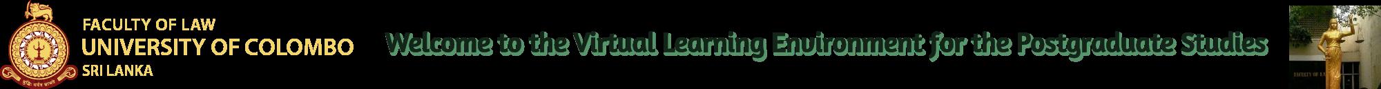 Virtual Learning Environment for the Postgraduate Studies